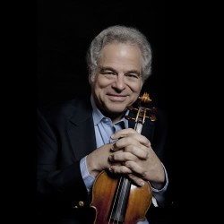 Itzhak Perlman Photo By Lisa Marie Mazzucco
